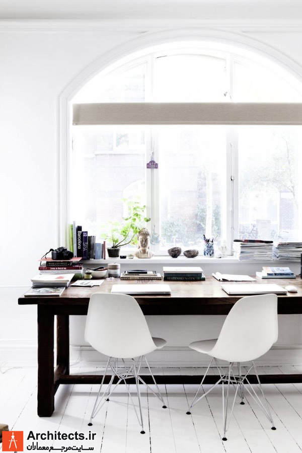 طراحی داخلی دفتر کار خانگی: بررسی 20 ایده