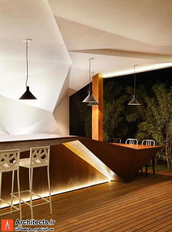 طراحی داخلی : رستوران نوستروس