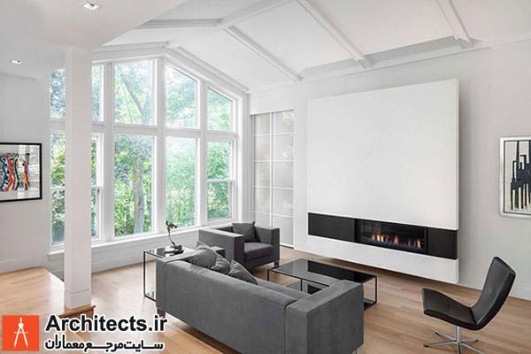 طراحی داخلی : 7 ایده در طراحی شومینه های مدرن