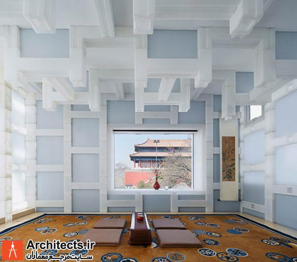 بازسازی و طراحی یک خانه چای چینی