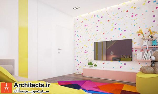 طراحی داخلی : 4 ایده طراحی اتاق کودک با ترکیب رنگ ها