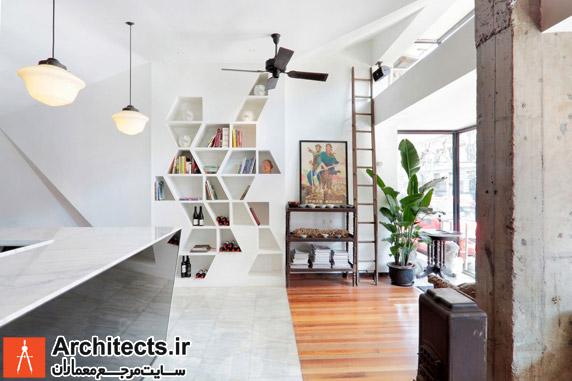 طراحی کتابخانه ی خانگی و کاربرد آن در دکوراسیون داخلی