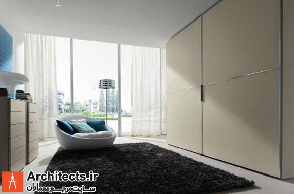 12 نمونه طراحی کمد دیواری