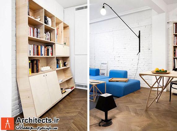 استفاده از رنگ های شاد در معماری داخلی
