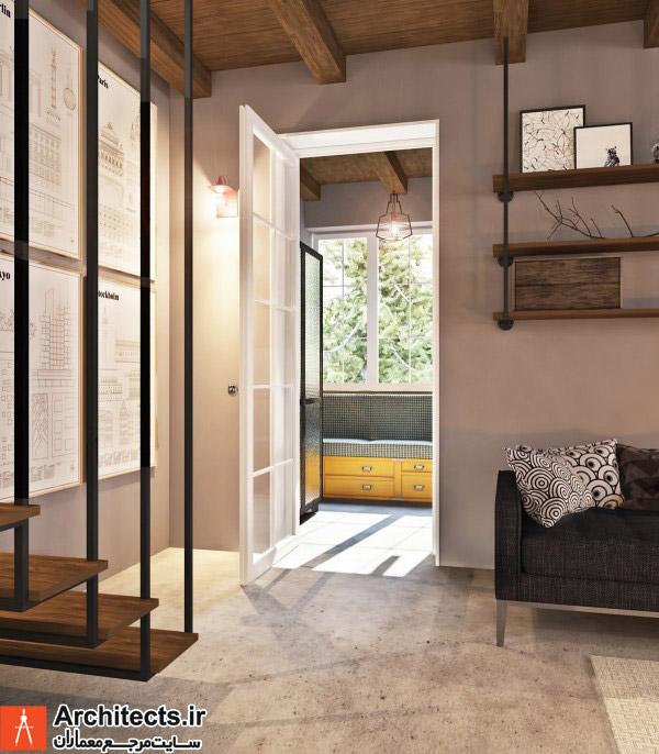 کاربرد سطوح بتنی پرداخت نشده در طراحی داخلی منزل