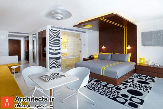 7 نمونه طراحی تخت خواب مدرن به همراه فضای پشت تختی