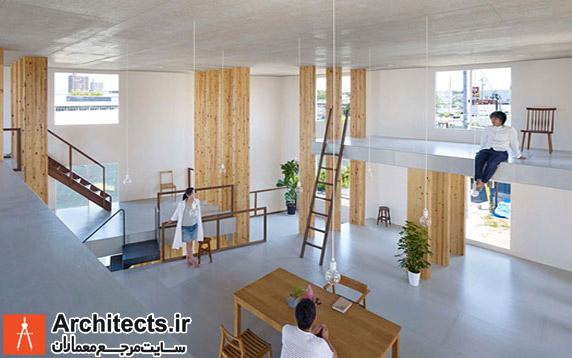 یک شرکت دکوراسیون ژاپنی طراحی داخلی دفتر کار خود را انجام داد