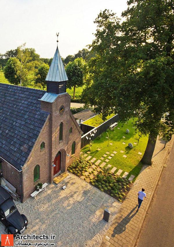 بازسازی کلیسا و تبدیل آن به خانه ی مسکونی