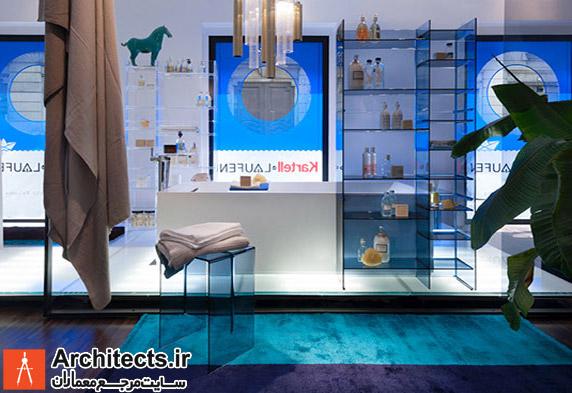 طراحی داخلی فروشگاه تجاری Kartell