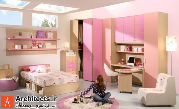 40 نمونه دکوراسیون داخلی اتاق کودک دخترانه