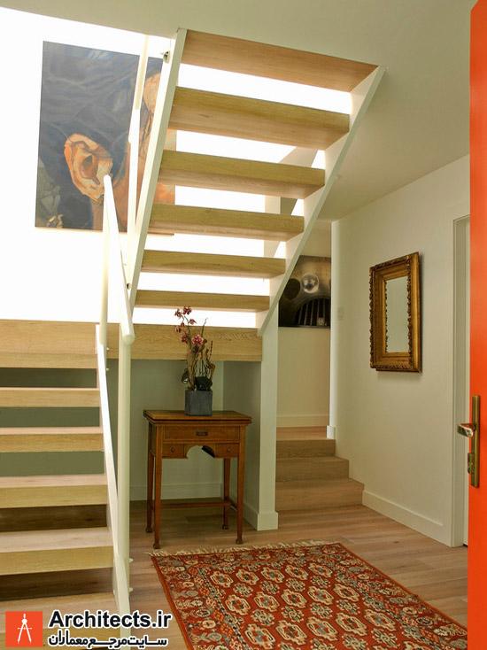استفاده از فرش ایرانی دو دکوراسیون داخلی فضای ورودی و راهرو