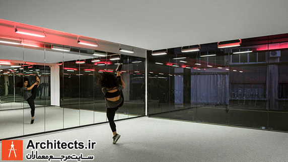طراحی و دکوراسیون داخلی باشگاه بدنسازی در بیروت