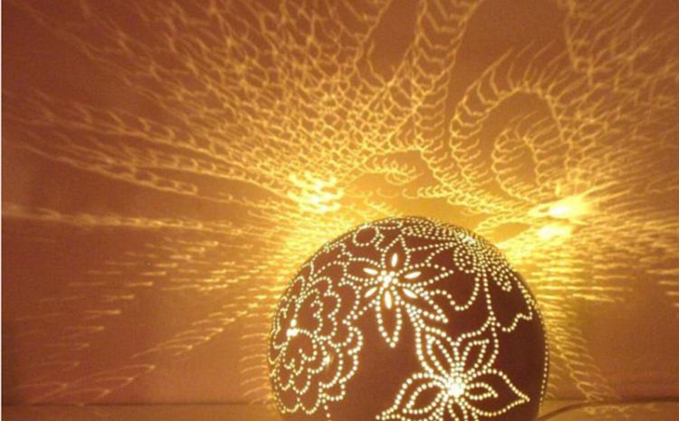 مجموعه ای از چراغ ها با طرحی خلاقانه