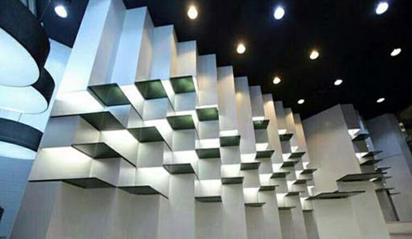 رویال فروشگاه دیش رتبه ۲ در رقابت طراحی داخلی ملی در بخش ساختمان های تجاری