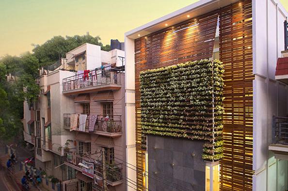 طراحی آپارتمان M با توجه اقلیم و موقعیت سایت پلان