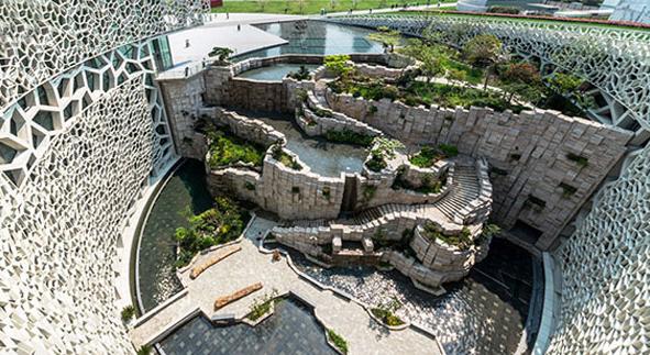 معماری ساختمان موزهی تاریخ طبیعی شانگهای