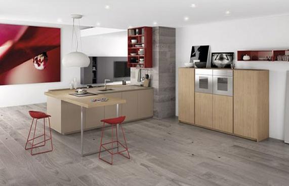 ۴ نمونه طراحی داخلی آشپزخانه به سبک مینیمال