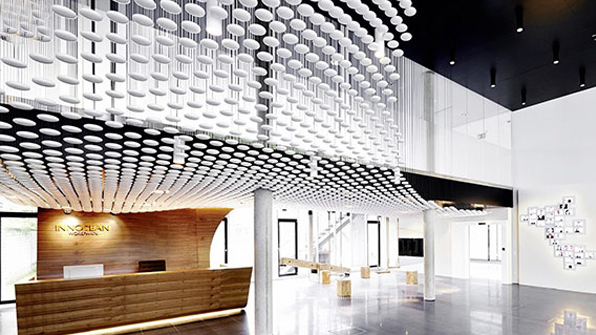 طراحی داخلی دفتر اداری INNOCEAN