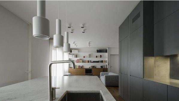 طراحی داخلی آپارتمان، مدرن و ساده