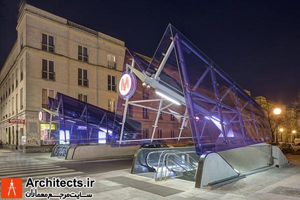 طراحی خط ۲ مترو ورشو لهستان